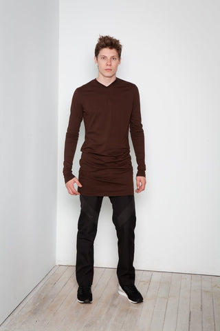 Tunic Tee  |  Brown