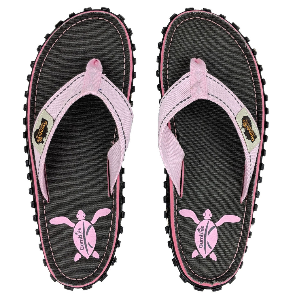 Islander Canvas Flip-Flops - Grey Turtle