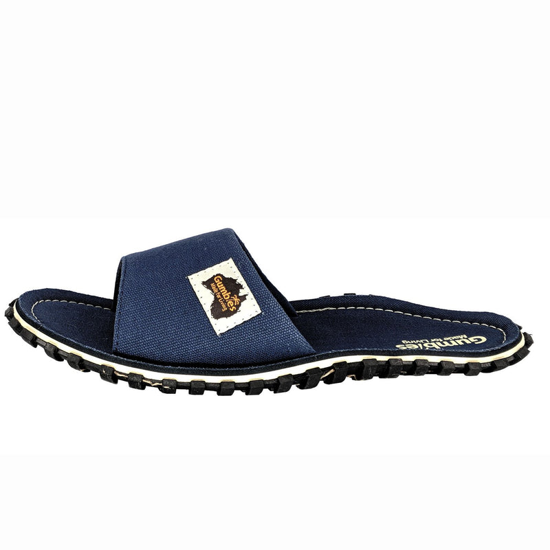 Islander Canvas Slide - Navy