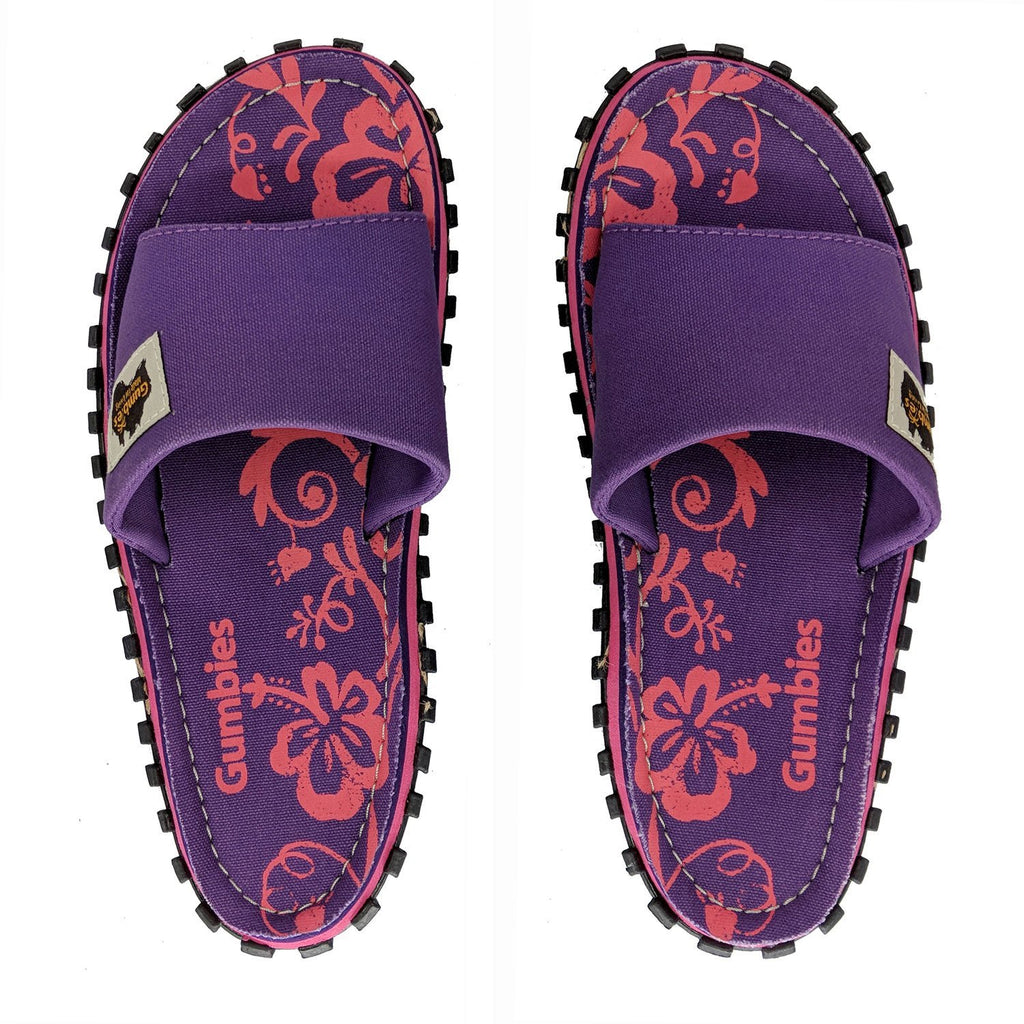 Islander Canvas Slide - Purple