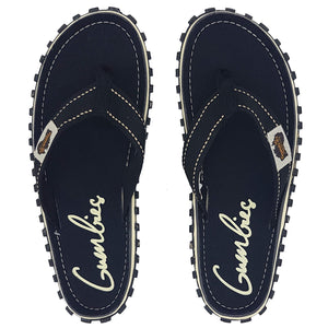 Islander Canvas Flip-Flops - Black