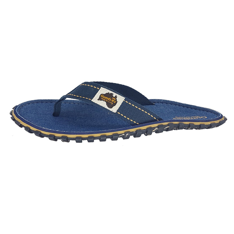 Islander Canvas Flip-Flops - Denim