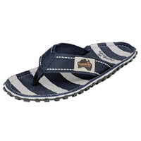 Islander Canvas Flip-Flops - Deck Chair