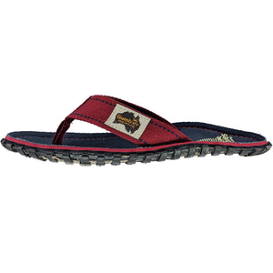 Islander Canvas Flip-Flops - Navy Coast