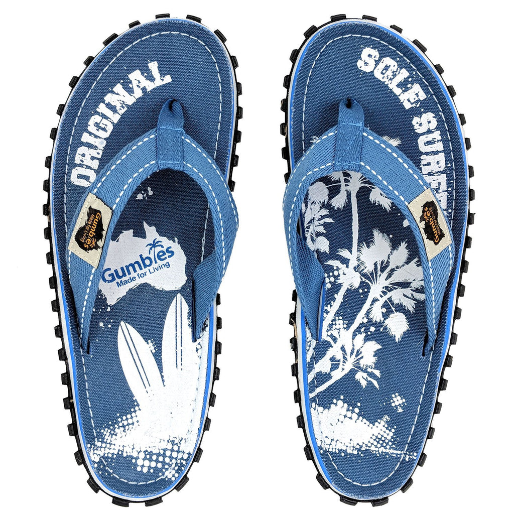 Islander Canvas Flip-Flops - Palm
