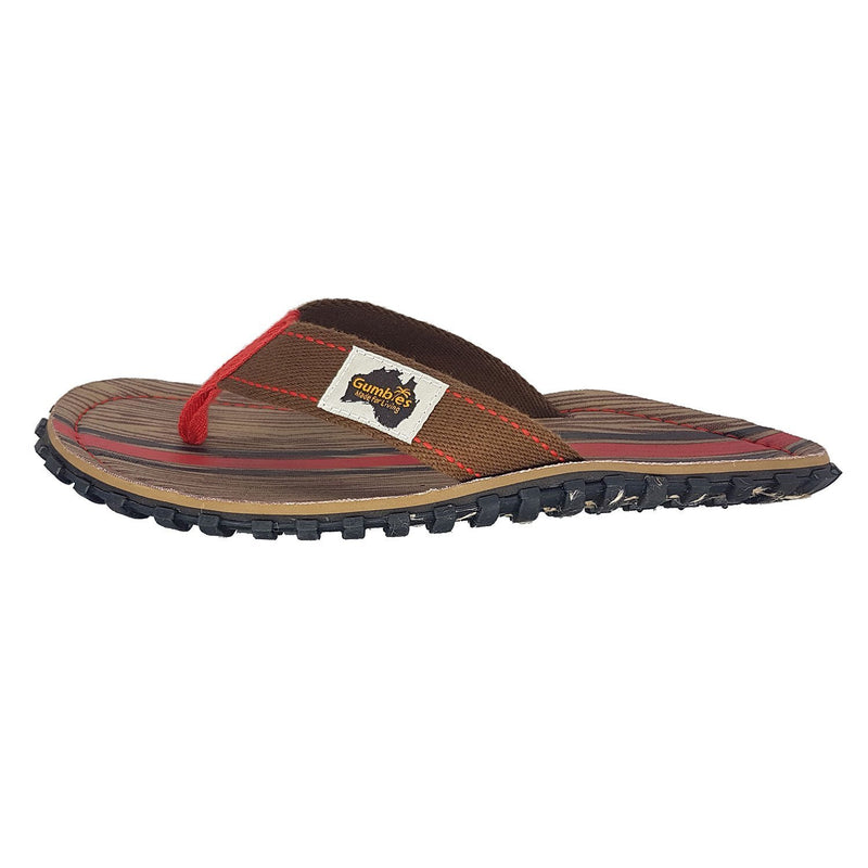Islander Canvas Flip-Flops - Woody