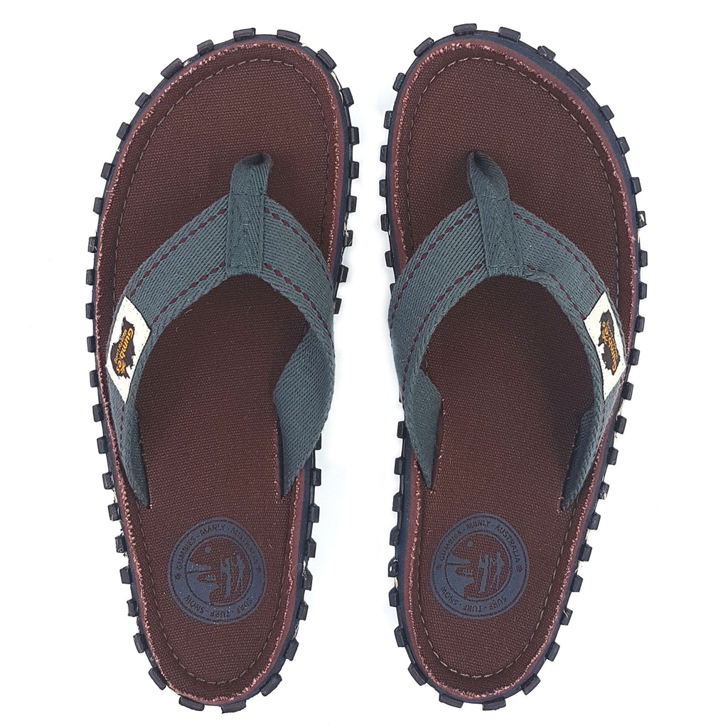 Islander Canvas Flip-Flops - Manly