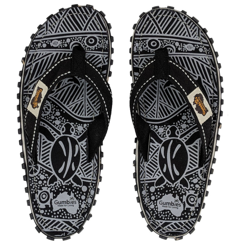Islander Canvas Flip-Flops - Signature Pattern