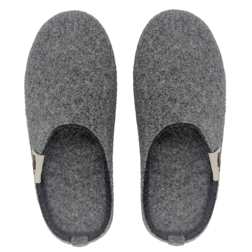 Outback Slippers - Grey & Charcoal