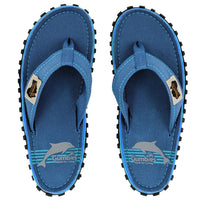 Islander Canvas Flip-Flops - Blue Pool