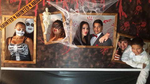 Halloween Party Photo booth backdrop