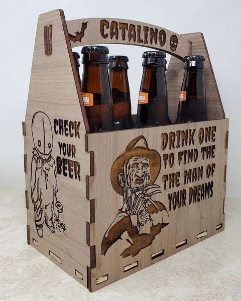 Horror Beer Caddy