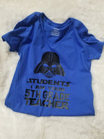 Starwars teacher shirt