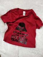 Personalized Tee for Teacher, Teacher Tee, Teacher shirt, Grade Shirt - CCCreationz