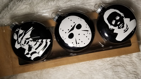 Horror Ornaments - Halloween Christmas - CCCreationz