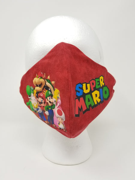 Super Mario face mask