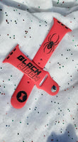Black Widow Apple Watch Band