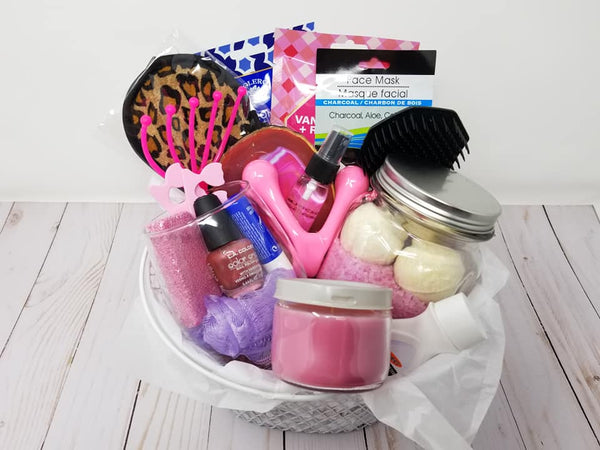 Relaxation Gift Basket, Mother Gift Basket, New Mom Gift Basket