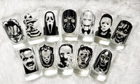 horror movie shot glasses