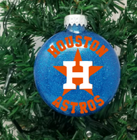 Astros Ornament, Huston Astros