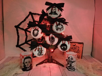 Horror Christmas Ornaments