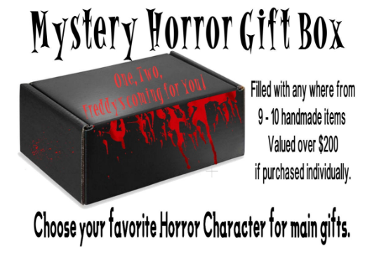 Horror Mystery Box, Ultimate Horror Gift Box