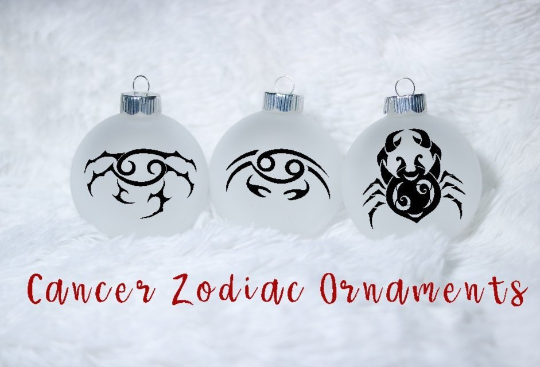 Zodiac Ornaments, Christmas Ornaments, Horoscope Ornaments, Zodiac gift, Gift for her - CCCreationz