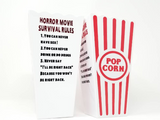 Personalized Popcorn Horror Movie Container
