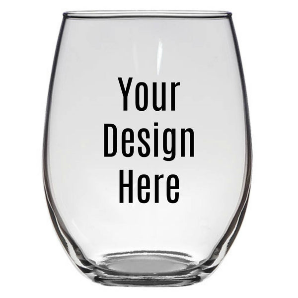 Stemless Wine Glass 21 oz. - Custom - CCCreationz