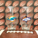 Football Custom Glasses - CCCreationz