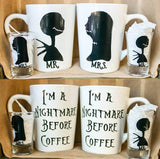 Nightmare Before Christmas Coffee and Shot glass set - CCCreationz