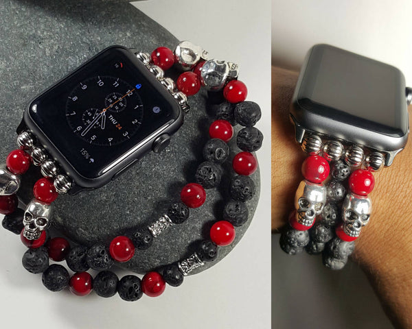 iWatch Custom Band, Apple Watch, iWatch Bracelet, Apple Watch Bracelet, 42mm Apple Band, Custom - CCCreationz