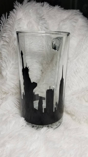 Mew York City Skyline 28oz Beer Mug - CCCreationz