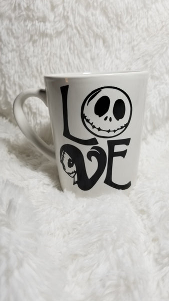Nightmare Before Christmas Coffee mug, Jack coffee mug, coffee lover, Sally - CCCreationz