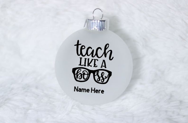 Teacher ornament - teacher gift
