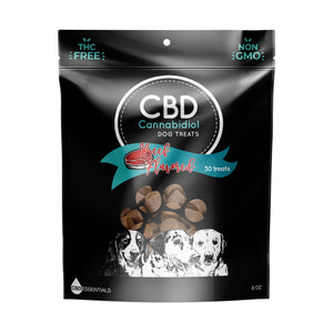 Load image into Gallery viewer, CBD Beef Flavor Dog Treats in bag