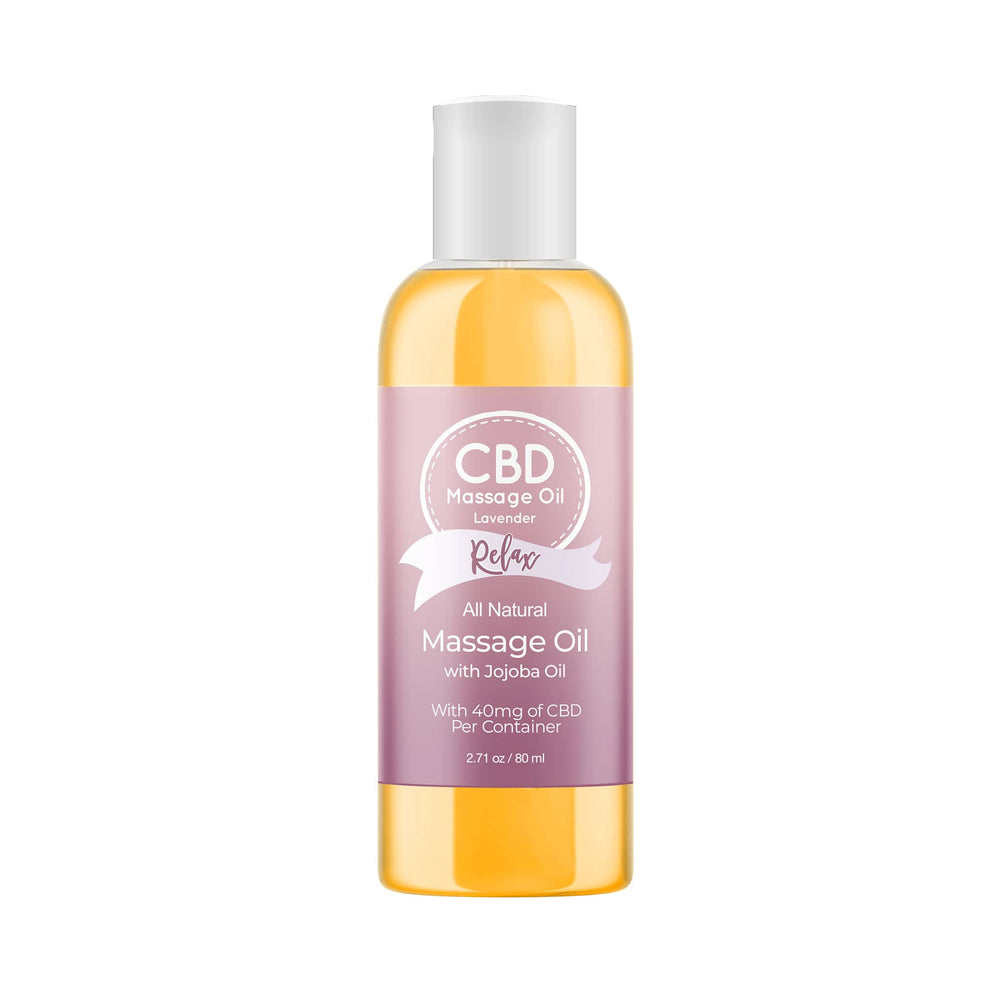 CBD Massage Oil (80ml)