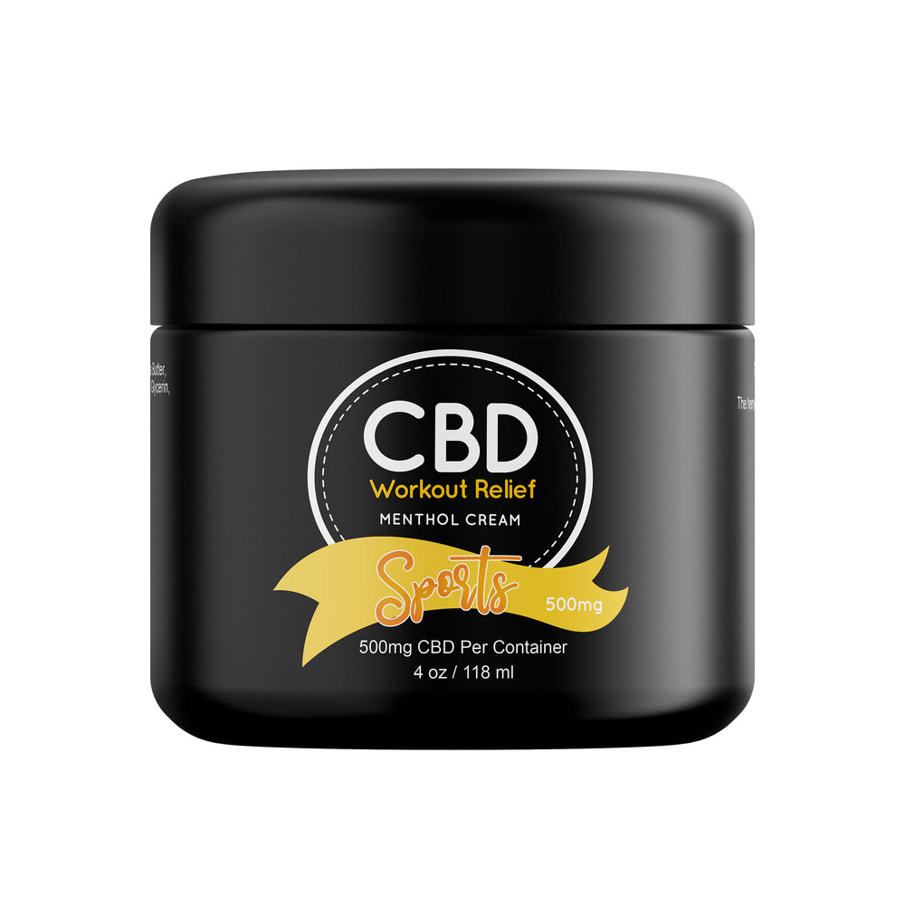 CBD Workout Relief Cream