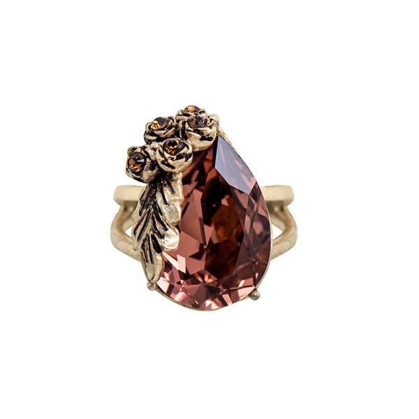 Wine Red Classic Ring