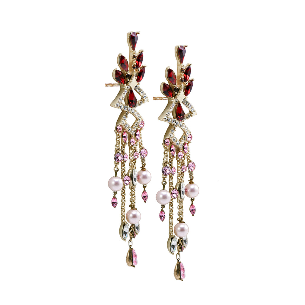 Lady Rouge Drape Earrings
