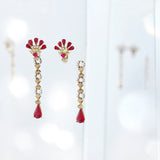 Lady Rouge Detachable Earrings