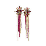 Lady Rouge Tassel Earrings