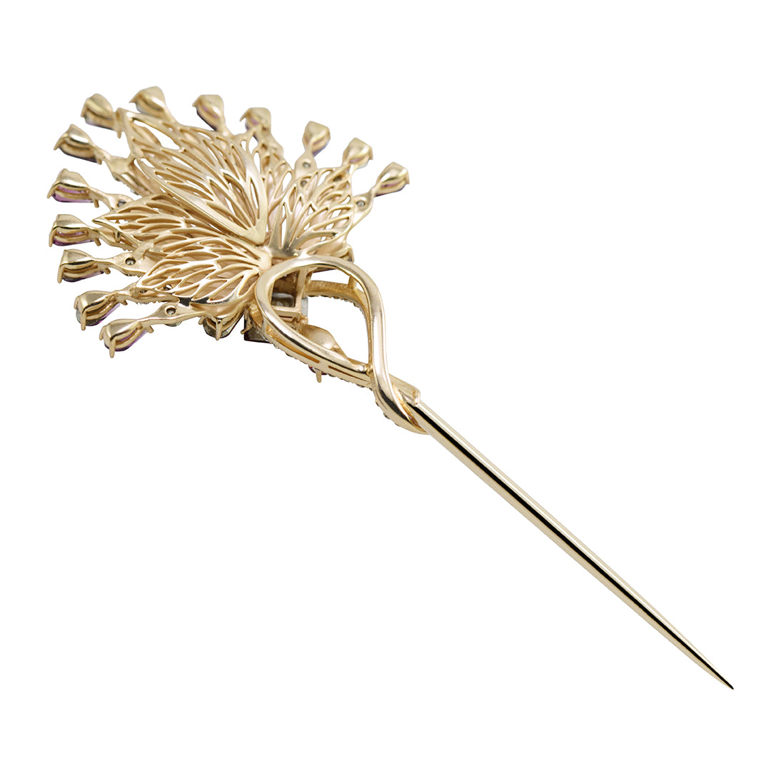 Flamboyant Hairpin