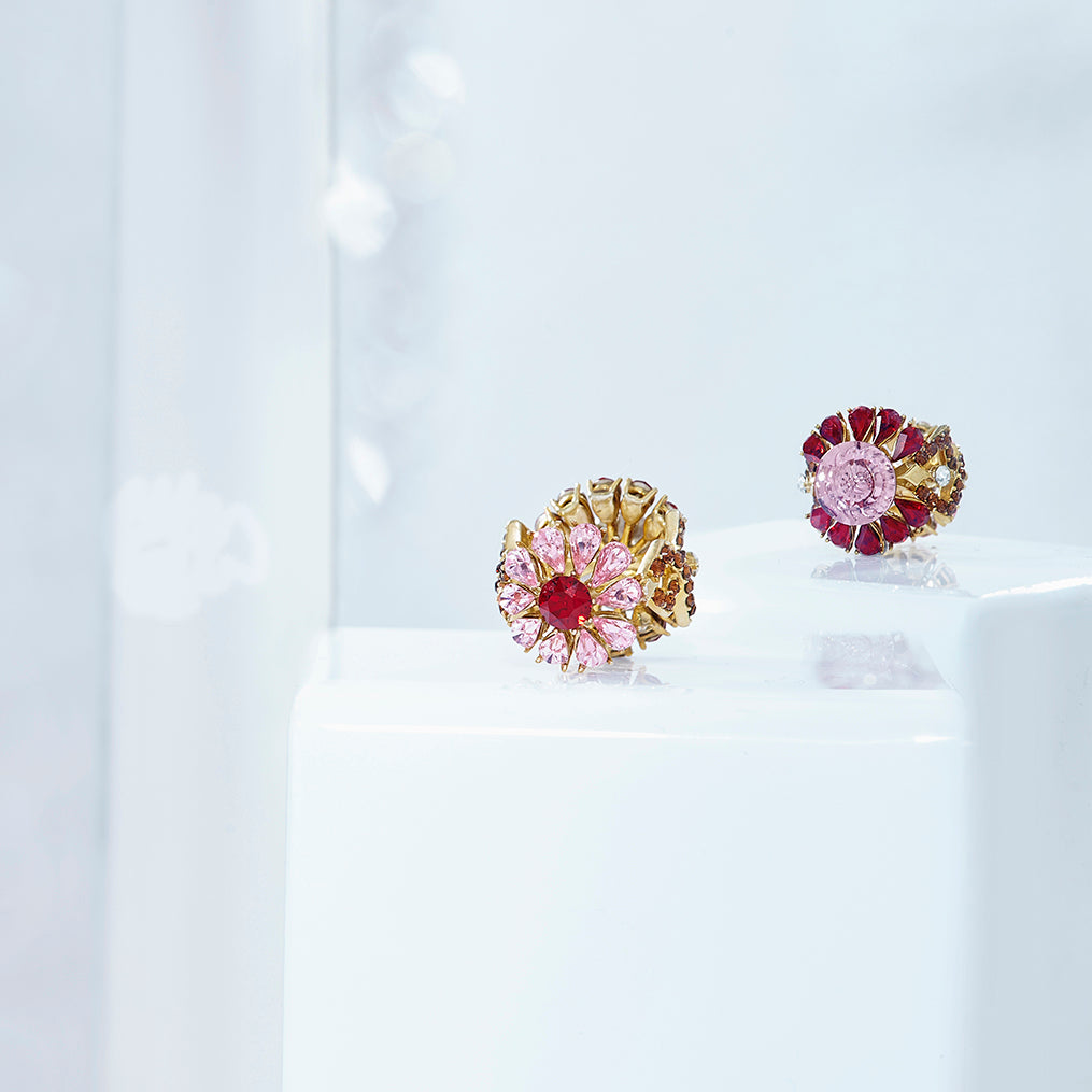 2-Sided Floral Ring