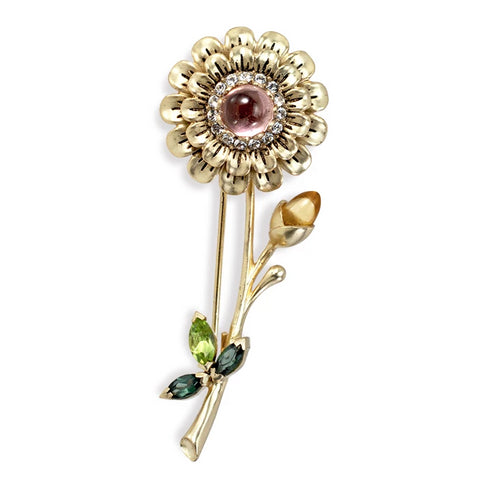 Summer Stem Brooch