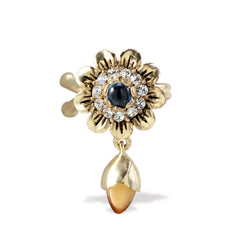 Summer Flower Ear Cuff