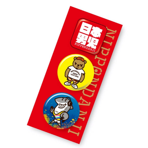 NIPPONDANJI 2019RED BADGE SET
