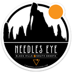 Needles Eye Sticker