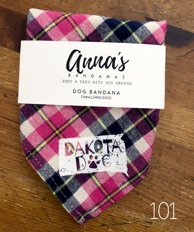 Anna's Dog Bandana for Small-Medium Dogs