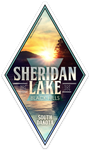 Sheridan Lake Sticker